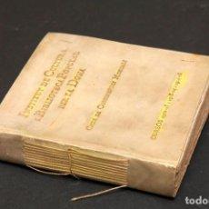 Libros antiguos: CICLE CONFERENCIES MUSICALS - EZEQUIEL MARTÍN - INSTITUT DE CULTURA ... DE LA DONA. Lote 149220262