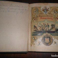 Libros antiguos: GAUDEAMUS IGITUR IUVENES DUM SUMUS ALEGREMONOS PUES 1919 EN ALEMAN C/68. Lote 151444086