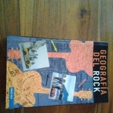 Libros antiguos: GEOGRAFIA DEL ROCK DE MUSICA N°4 EDITORIAL LA MASCARA (IGNACIO JULIA) EN PERFECTAS CONDICIONES.. Lote 74240975