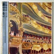 Libros antiguos: GRAN TEATRO DEL LICEO. TEMPORADA 1928- 1929. LOS MAESTROS CANTORES - BARCELONA 1928. Lote 154607764