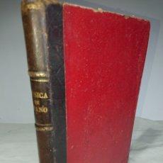 Libros antiguos: MÚSICA DE PIANO - ANTIGUO LIBRO CON 180 PÁGINAS CON PARTITURAS. Lote 156415062