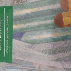 Libros antiguos: INVENTARIO CATALOGO ÓRGANOS PROVINCIA CADIZ. Lote 156450138