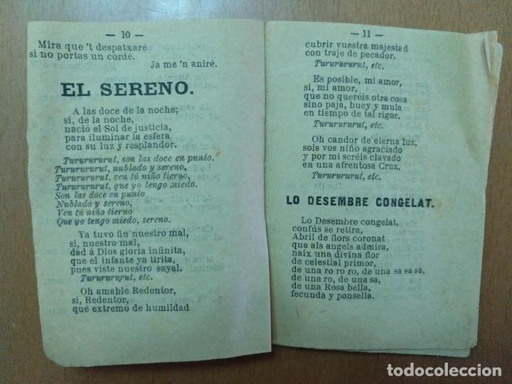 Libros antiguos: CANCIONES EN CATLAN Y CASTELLANO DEDICADAS AL NACIMIENTO DEL NIÑO JESUS. BARCELONA 1869 - Foto 2 - 157246234