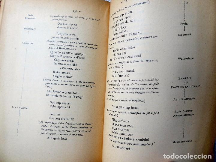 Libros antiguos: PR-118. RICART WAGNER. SIEGFRIED. 2ª JORNADA DE L'ANELL DEL NIBELUNG. 1904. ASSOCIACIÓ WAGNERIANA - Foto 11 - 165569264