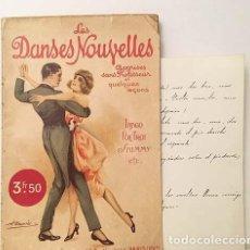 Libros antiguos: LES DANSES NOUVELLES (1926) BAILES MODERNOS SIN PROFESOR… TANGO, VALS, FOX´TROT, PASODOBLE, CHOTIS. Lote 162429270