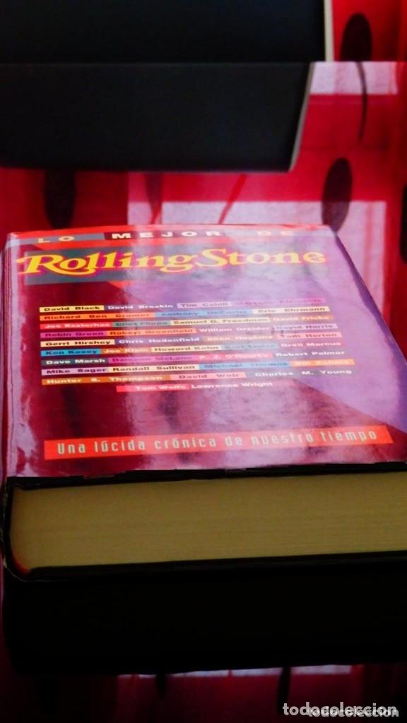 Libros antiguos: LO MEJOR DE ROLLING STONE * Libro tapas duras 587 páginas - Foto 6 - 99112451