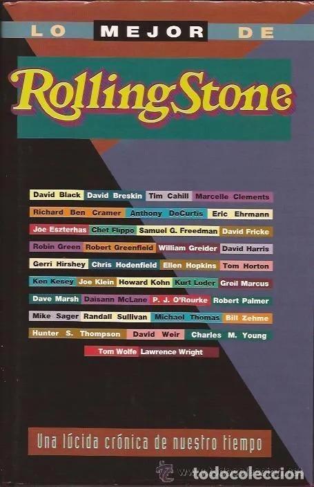 LO MEJOR DE ROLLING STONE * LIBRO TAPAS DURAS 587 PÁGINAS (Libros Antiguos, Raros y Curiosos - Bellas artes, ocio y coleccion - Música)