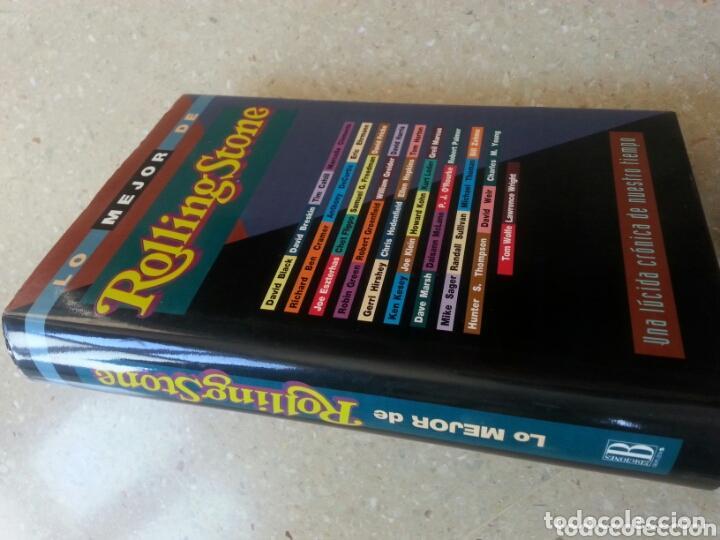 Libros antiguos: LO MEJOR DE ROLLING STONE * Libro tapas duras 587 páginas - Foto 2 - 99112451
