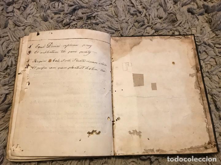 Libros antiguos: Gregoriano. Lisboa. 1734. Processionale Juxta Formam Ritualis Roamni, Pauli V. Pontificis Maximi - Foto 10 - 163800066