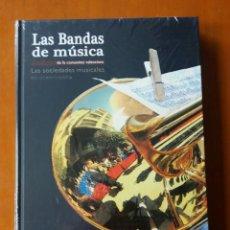 Libros antiguos: LIBRO ENCICLOPEDIA LAS BANDAS DE MÚSICA DE LA COMUNIDAD VALENCIANA. 2016. PRECINTADO.. Lote 164754966