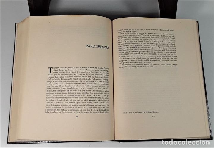 Libros antiguos: PEL NOSTRE IDEAL. LLUIS MILLET. IMP. JOAQUIM HORTA. BARCELONA. 1917. - Foto 6 - 165496702