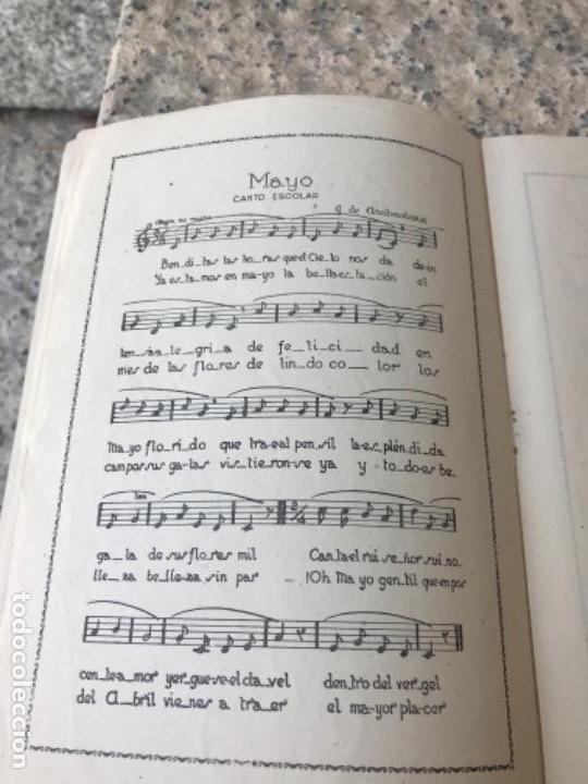 Libros antiguos: Magisterio, zamora, canciones - Foto 3 - 165507030