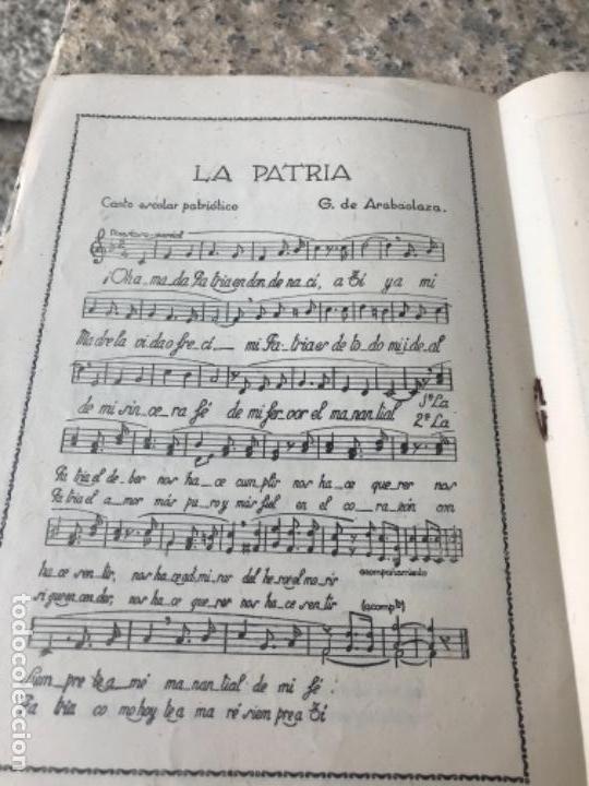 Libros antiguos: Magisterio, zamora, canciones - Foto 4 - 165507030