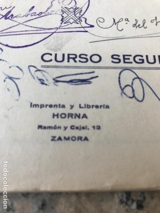 Libros antiguos: Magisterio, zamora, canciones - Foto 6 - 165507030