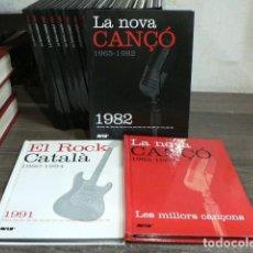 Libros antiguos: LA NOVA CANÇÓ 1965-1982 + EL ROCK CATALÀ 1980-1994. Lote 166938688