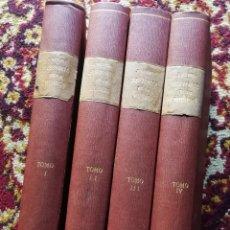Libros antiguos: HISTORIA DE LA MUSICA- JOSE SUBIRÁ - SALVAT EDITORES, 3º EDICIÓN- 4 TOMOS, COMPLETA!!!. . Lote 167791312