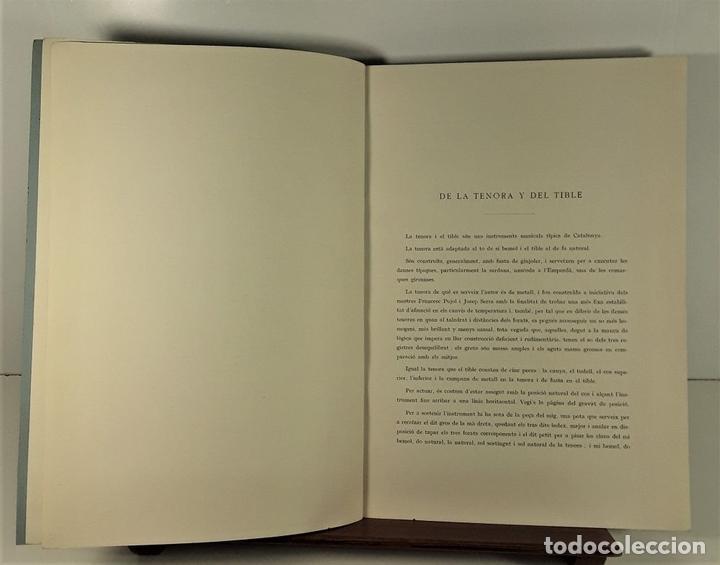 Libros antiguos: MÈTODE DE TENORA I TIBLE. JOSEP COLL. IMP. ELZEVIRIANA. BARCELONA. SIGLO XX. - Foto 5 - 167831520