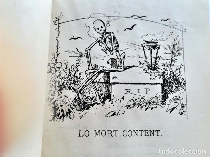 Libros antiguos: LIBRO MUSICA CATALANA SIGLO XIX,CANCIONES ILUSTRADAS,CANSONS ,AÑO 1879,DIBUJOS APELES MESTRES,LETRAS - Foto 5 - 168016904