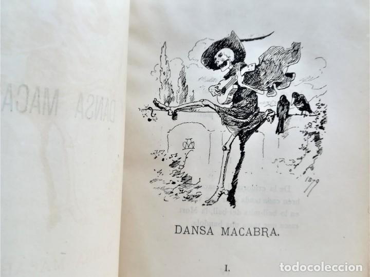Libros antiguos: LIBRO MUSICA CATALANA SIGLO XIX,CANCIONES ILUSTRADAS,CANSONS ,AÑO 1879,DIBUJOS APELES MESTRES,LETRAS - Foto 6 - 168016904
