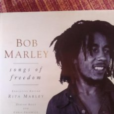 Libros antiguos: BOB MARLEY SONGS OF FREEDOM. Lote 168053380
