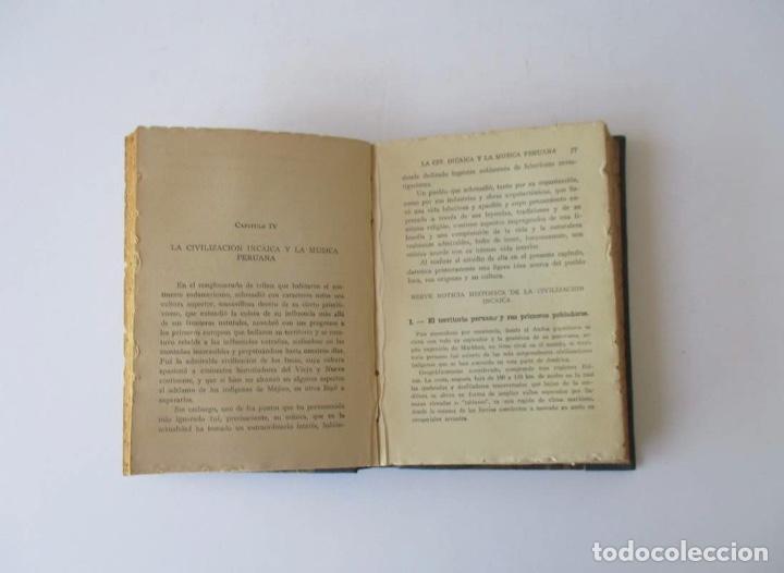 Libros antiguos: HISTORIA DE LA MUSICA LATINOAMERICANA - Foto 3 - 168191352