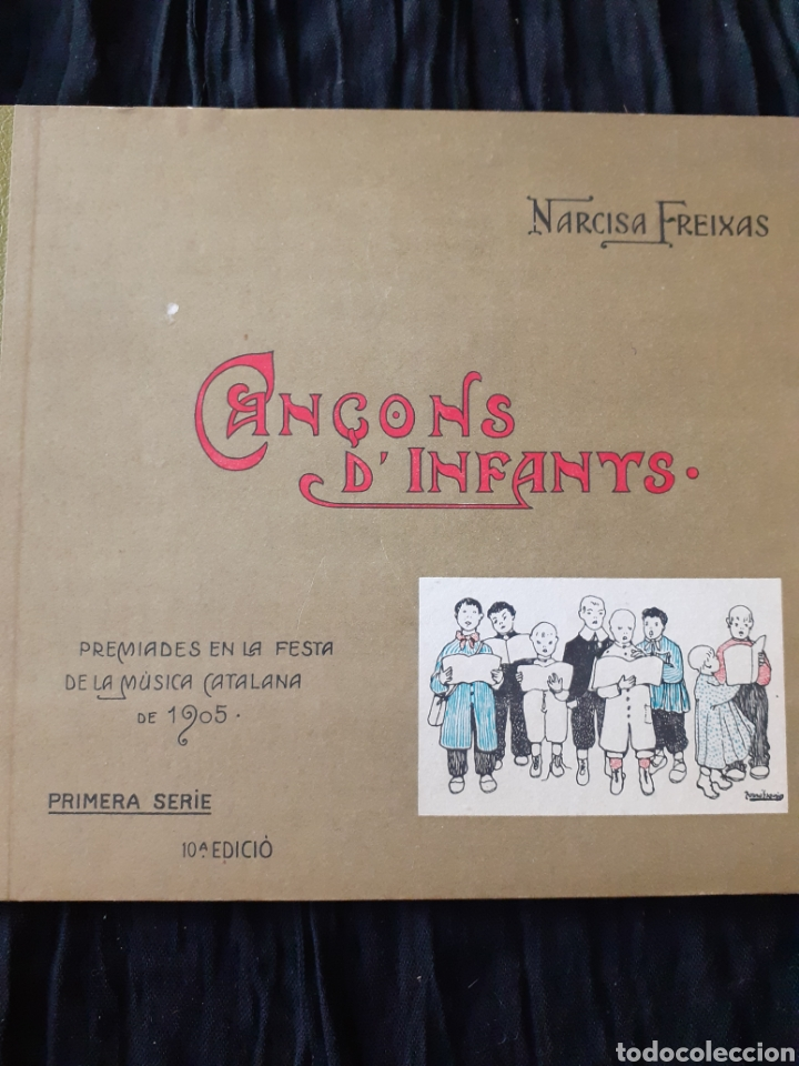 CANÇONS D'INFANTS. NARCISA FREIXAS. (Libros Antiguos, Raros y Curiosos - Bellas artes, ocio y coleccion - Música)