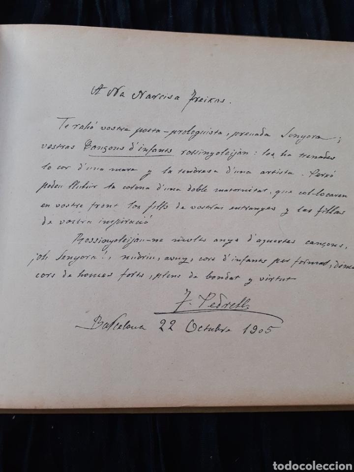 Libros antiguos: CANÇONS D'INFANTS. NARCISA FREIXAS. - Foto 2 - 168243257