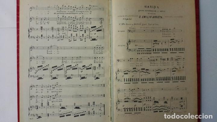 Libros antiguos: LIBRO MARINA, OPERA ESPAÑOLA EN 3 ACTOS, MUSICA DE D. EMILIO ARRIETA, AÑOS 20 - Foto 4 - 168280940