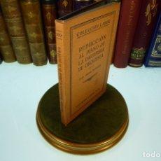 Libros antiguos: REDUCCIÓN AL PIANO DE LA PARTITURA DE ORQUESTA. COLECCIÓN LABOR. SECCIÓN V. Nº 150. BARCELONA. 1928.. Lote 169000484