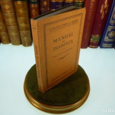 Libros antiguos: MANUAL DEL PIANISTA. HUGO RIEMANN. COLECCIÓN LABOR. SECCIÓN V. Nº 182. BARCELONA. 1928.. Lote 169001640