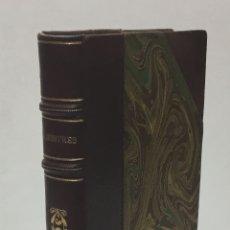 Libros antiguos: LLIBRE D'OR. CENT CANÇONS POPULARS DE DIFERENTS PAÏSOS TRADUÏDES PER APELES MESTRES. . Lote 170289840