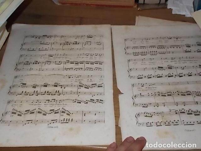 Libros antiguos: INCREÍBLES PARTITURAS GRABADAS EN PAPEL VERJURADO SIGLO XVIII DON JUAN . MÚSICA MOZART - Foto 5 - 170343464