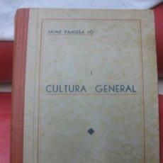 Libros antiguos: JAIME PAHISSA. CONSERVATORIO DEL LICEO. CULTURA GENERAL Y ESTETICA MUSICAL. TOMO I. 1935.. Lote 170349560