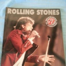 Libros antiguos: THE ROLLING STONES EDITORIAL LA MÁSCARA. Lote 171452145