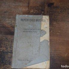 Libros antiguos: REPERTORIO MUSICO, COLECCION DE CANTOS RELIGIOSOS POPULARES, BILBAO, 1921. Lote 171657755