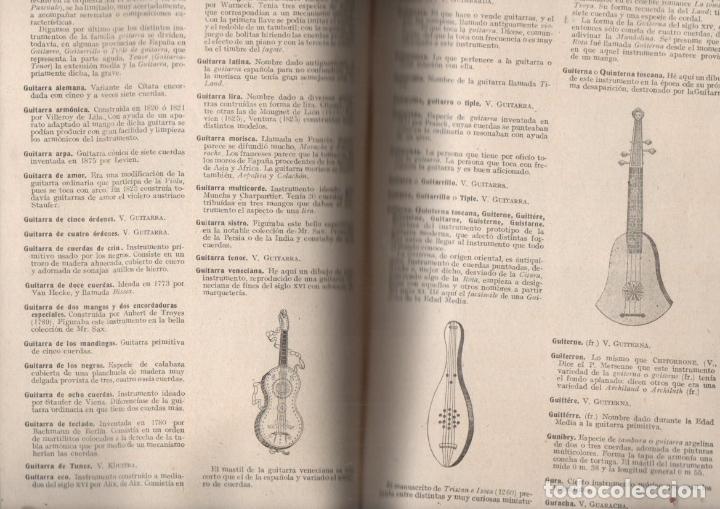 Libros antiguos: FELIPE PEDRELL : DICCIONARIO TÉCNICO DE LA MÚSICA (TORRES ORIOL, c. 1900) - Foto 3 - 172085353
