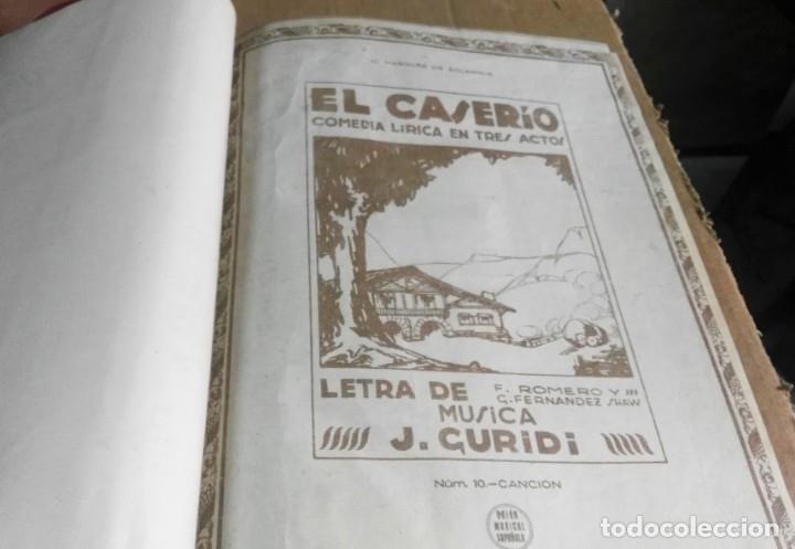 Libros antiguos: Recopilación de canciones encuadernadas. c. 1929. Música. Bailables y zarzuelas - Foto 3 - 172237023