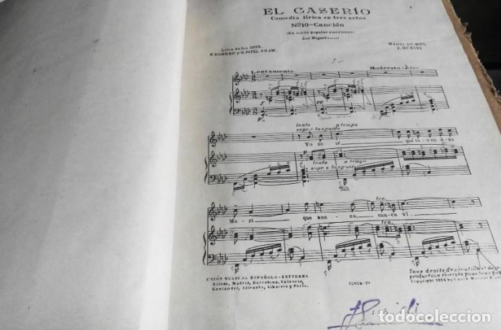 Libros antiguos: Recopilación de canciones encuadernadas. c. 1929. Música. Bailables y zarzuelas - Foto 4 - 172237023