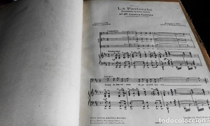 Libros antiguos: Recopilación de canciones encuadernadas. c. 1929. Música. Bailables y zarzuelas - Foto 6 - 172237023