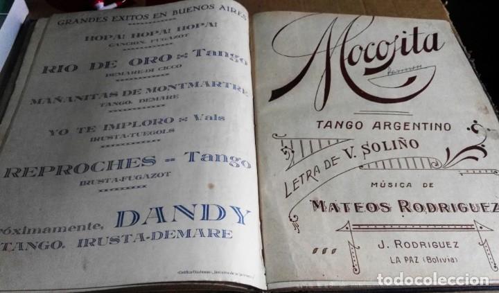 Libros antiguos: Recopilación de canciones encuadernadas. c. 1929. Música. Bailables y zarzuelas - Foto 9 - 172237023