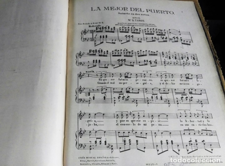 Libros antiguos: Recopilación de canciones encuadernadas. c. 1929. Música. Bailables y zarzuelas - Foto 11 - 172237023