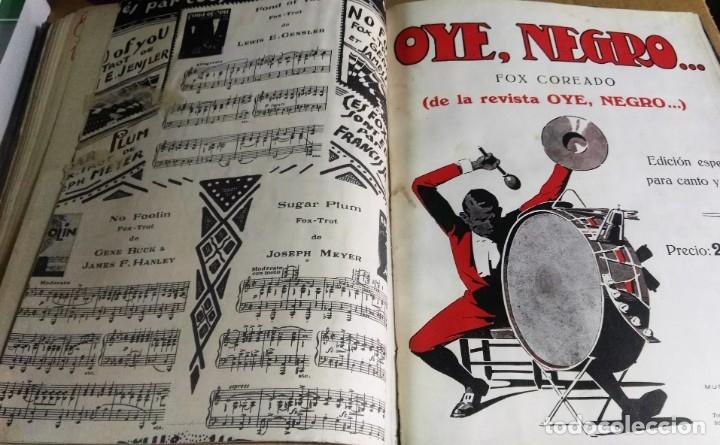 Libros antiguos: Recopilación de canciones encuadernadas. c. 1929. Música. Bailables y zarzuelas - Foto 12 - 172237023