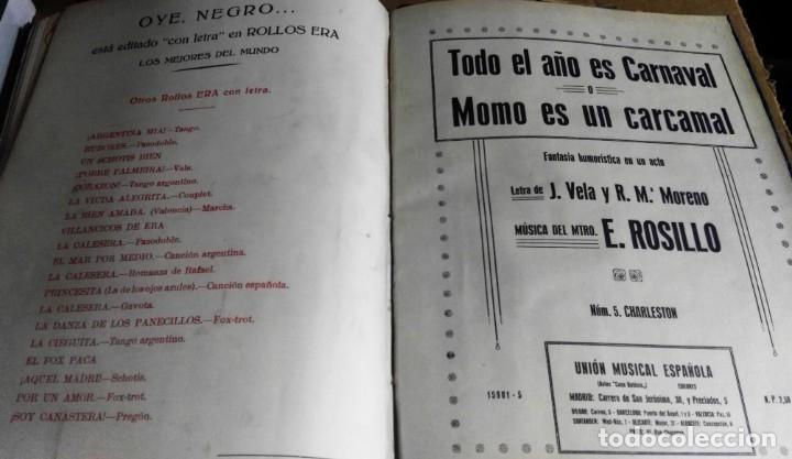 Libros antiguos: Recopilación de canciones encuadernadas. c. 1929. Música. Bailables y zarzuelas - Foto 13 - 172237023
