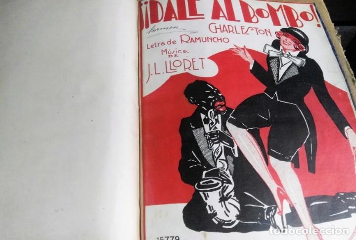 Libros antiguos: Recopilación de canciones encuadernadas. c. 1929. Música. Bailables y zarzuelas - Foto 14 - 172237023