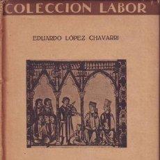 Libros antiguos: LOPEZ CHAVARRI, EDUARDO: MUSICA POPULAR ESPAÑOLA. BARCELONA, ED. LABOR 1927. DEDICATORIA AUTÓGRAFA. Lote 172310019
