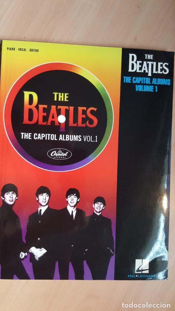 THE BEATLES THE CAPITOL ALBUMS VOL. 1 Y VOL. 2 SONGBOOKS (Libros Antiguos, Raros y Curiosos - Bellas artes, ocio y coleccion - Música)