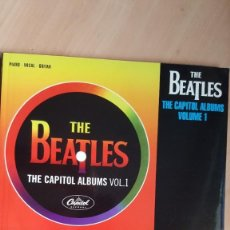 Libros antiguos: THE BEATLES THE CAPITOL ALBUMS VOL. 1 Y VOL. 2 SONGBOOKS. Lote 172453020