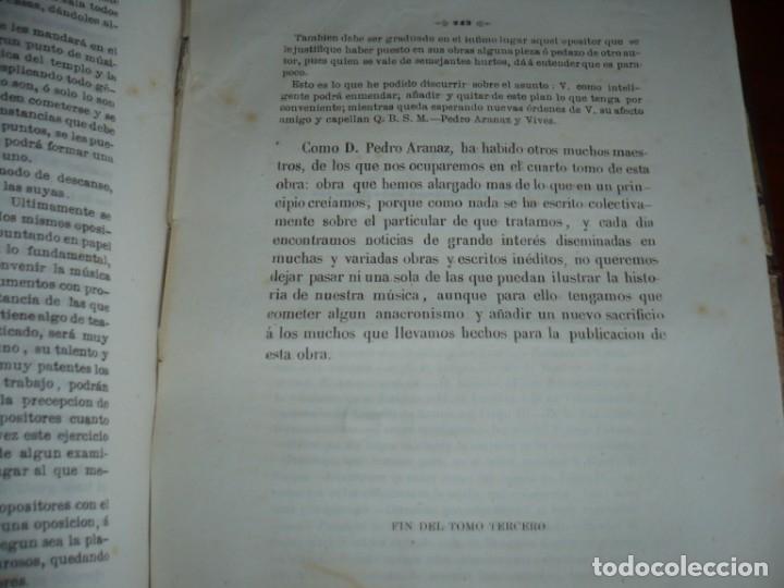 Libros antiguos: 2/ 4 TOMOS HISTORIA DE LA MUSICA ESPAÑOLA DESDE LOS FENICIOS HASTA 1850 MARIANO SORIANO 1856 MADRID - Foto 21 - 172576063