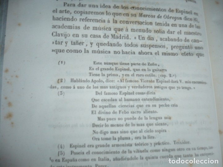 Libros antiguos: 2/ 4 TOMOS HISTORIA DE LA MUSICA ESPAÑOLA DESDE LOS FENICIOS HASTA 1850 MARIANO SORIANO 1856 MADRID - Foto 7 - 172576063
