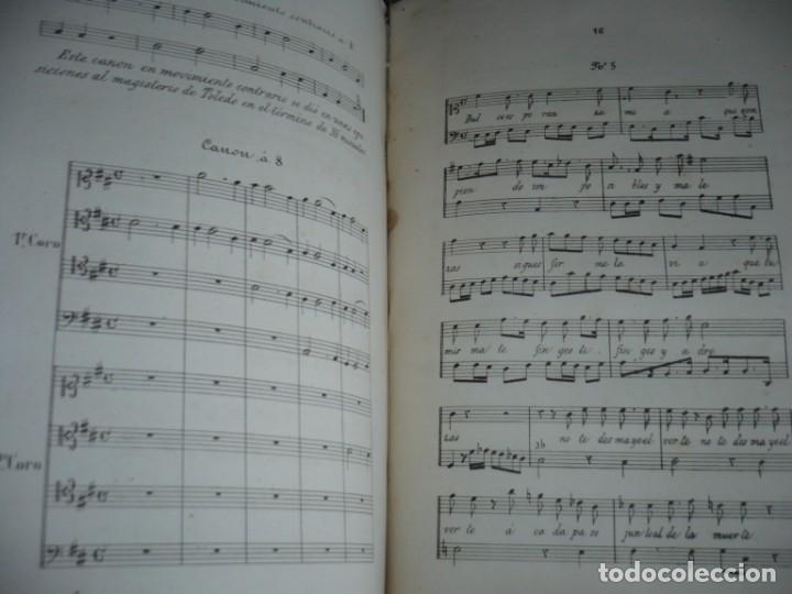 Libros antiguos: 2/ 4 TOMOS HISTORIA DE LA MUSICA ESPAÑOLA DESDE LOS FENICIOS HASTA 1850 MARIANO SORIANO 1856 MADRID - Foto 11 - 172576063
